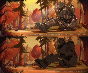 Paintover - The Iron Giant by SaTTaR