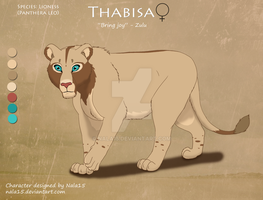 Thabisa - Lioness Adoptable CLOSED by Nala15