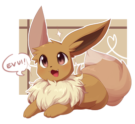 eevee! by mien-soup
