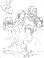 Of love, wars and dragons by ElizaLento