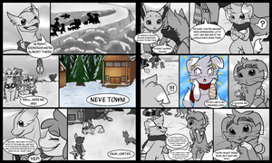 Rival Gates Job 3: The Fire Within - Pages 1-2 by FoxRodDraws