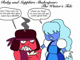 Ruby and Sapphire Shakespeare: The Winter's Tale by Artdirector123