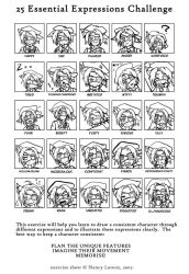25 expressions Challenge: Pan by Hotaru-oz