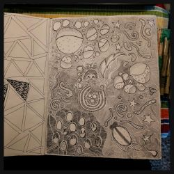 journal page is getting there by bleaknimue