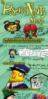 Psychonauts Meme by Twisted-chan