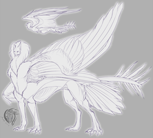 Winged Centauric Sphynx [Closed!] by Aevix