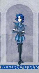 Sailor Mercury : Silver Mill. by Le-Artist-Boheme