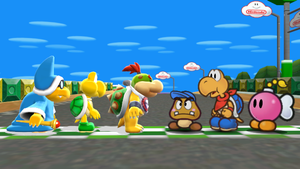 SML Trio meets Three Paper Mario Pals (MMD) by SuperAwesomeHamtaro