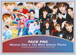 [PNG Pack #26] Wanna One x 1st Mini Album Photo by yunniejacksonyi