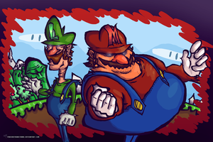 Super Mario Bros by Pedrovin