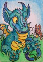 ACEO: Making Friends by DanielleMWilliams