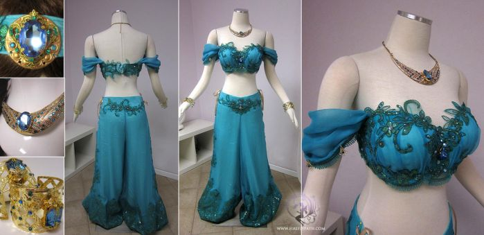 Princess Jasmine Costume by Firefly-Path