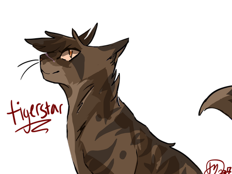 tigerstar - WC 100 day challenge day 6 by fairlystrange
