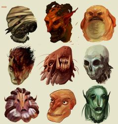 Masks by Fealasy
