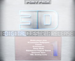 Equestria Digital Winter Release by Elalition