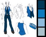 AoH: Azureus Uniform - male by LaynaFeynreique