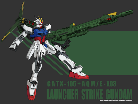 Launcher Strike Gundam by Rockatansky105