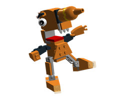 LDD Mixels: Drillion Model by Luqmandeviantart2000