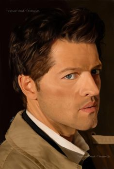 Castiel by TopHat-And-Tentacles
