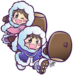 .:Popo and Nana - Puyo Puyo 20th-styled:. by CaitlinTheStarGirl