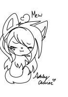 Kitten Ashy +quick sketch not perfect+ by cutelittlepikakitty