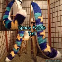 Space Panda Tail by TheFrozenPhoenix