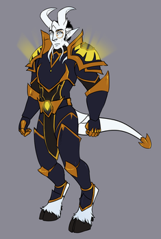 [wow][character design] New Draenei Here by SirMeo
