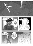 The Candle: A Bowser/Peach Doujin: [Page 42] by KichiMiangra