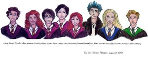 The New Hogwarts Generation by IndigoMermaid1022