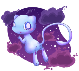 Blue Mew by KiwiBeagle