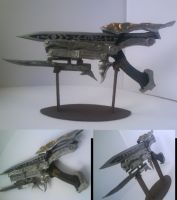Gunblade (Gunmode) mini-model by Zwielichtodin