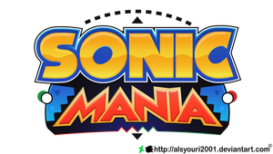 Sonic Mania Logo Transparent by TBSF-YT
