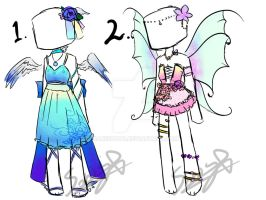 Flower Theme Outfit Aoptables {CLOSED} by SanicDodo
