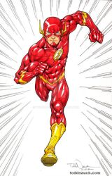 The Flash DC New 52 by ToddNauck