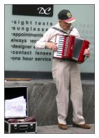 Street Entertainer by photocell