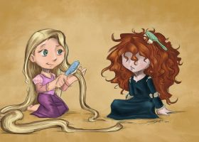 Wild Hairs by rice-claire