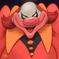 Daily Sketches the Ghost Clown by fedde