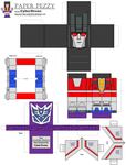 Paper Pezzy- Starscream by CyberDrone