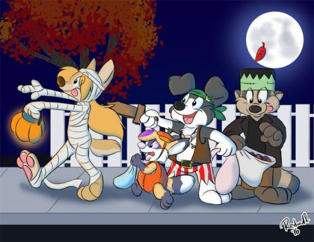 Spoops on Parade by redwulf