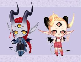 Classy Demon adopts~ {CLOSED} by Blackberreh-Adopts
