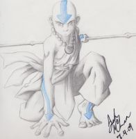 Aang: The Last Airbender by SerenityTranquillity