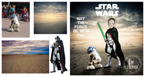 May the force be with you by ainedesign