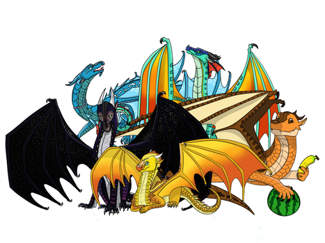 The Dragonets are Coming! by GDTrekkie