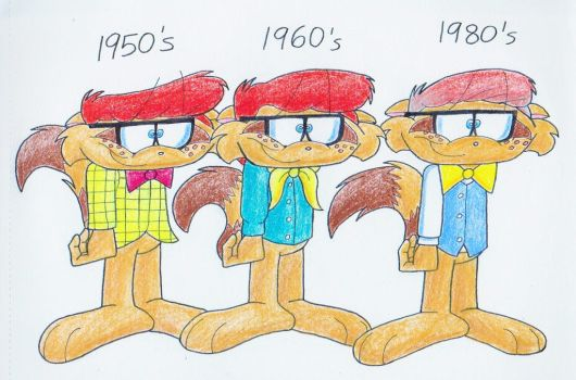 Dennis Through The 50s Segment, 60s, and 80s by IrishBecky