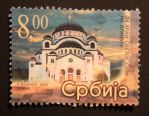 Tample of Saint Sava by Poststamps