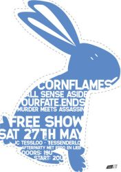 Poster Design - Cornflames,... by AS-I-CRY