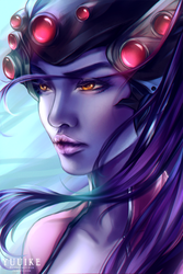 Overwatch - Widowmaker  by yuuike
