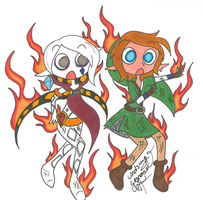 We're on Fire! 8D by PhantomLatte