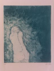 etching untitled green by japanesejuicebox