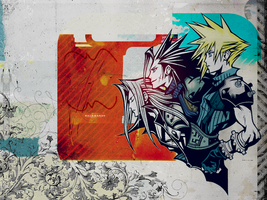 FFVII Before Crisis Wallpaper by elytSoN